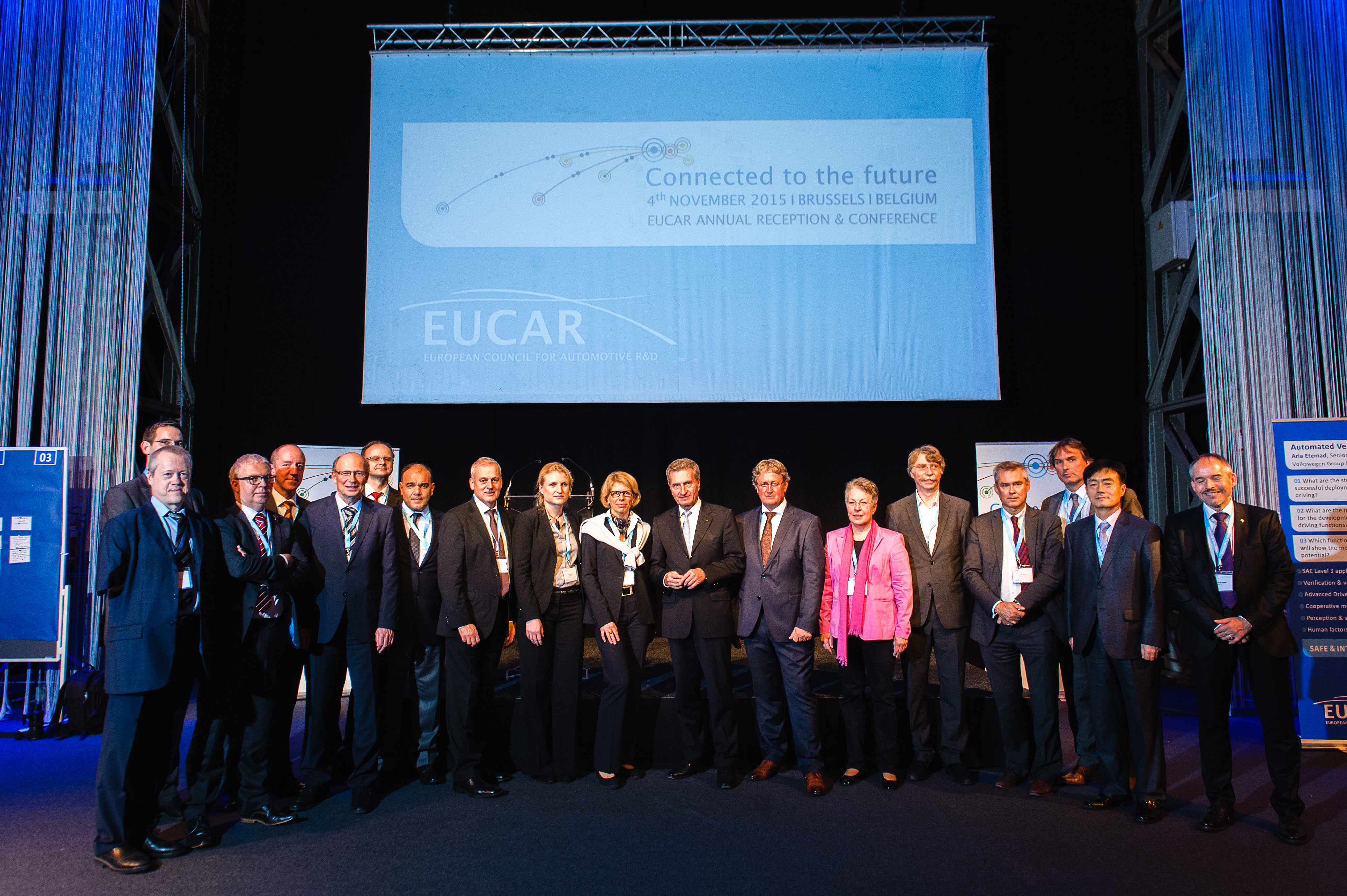EUCAR Conference and Reception 4th November 2015